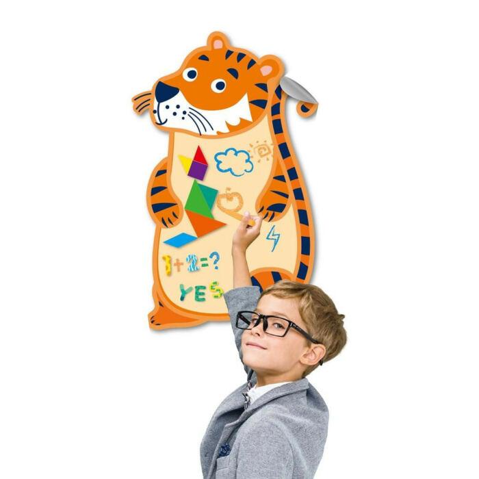 Avenir - Mágneses óriás fali tábla - tigris