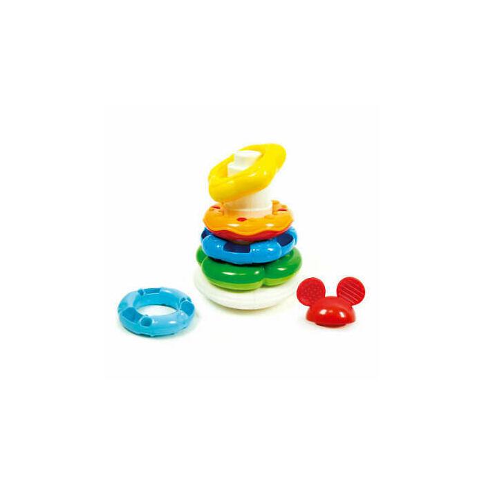 Clementoni - Mickey egeres gyűrűpiramis