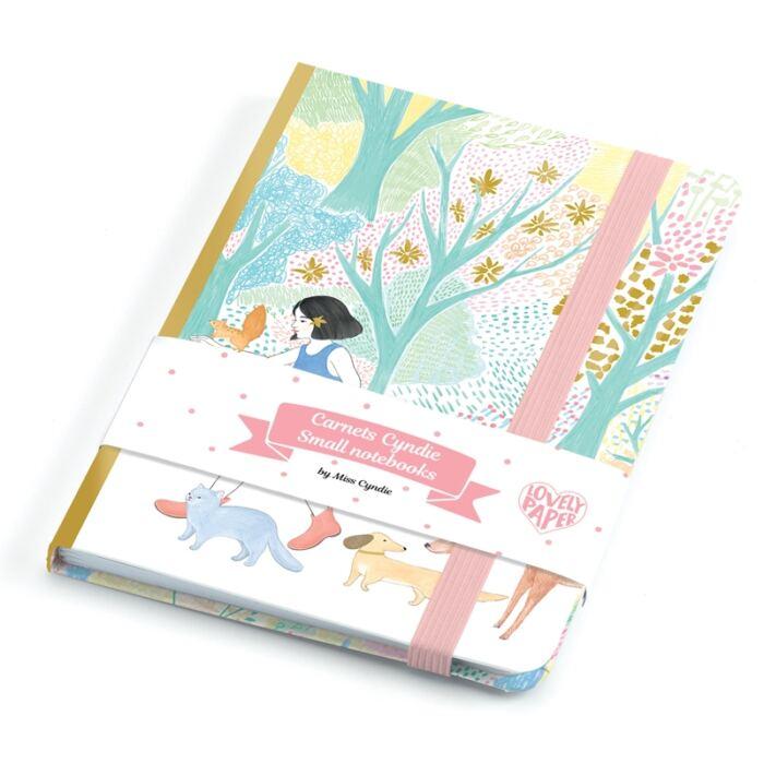 Djeco - Jegyzetfüzet A/6 - Cyndi notebook