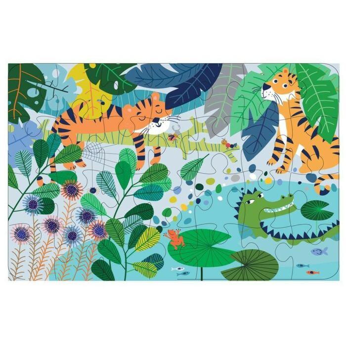Avenir - Puzzle dzsungel - 28db-os