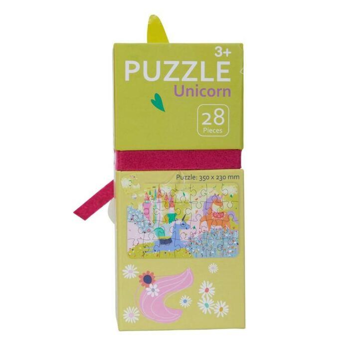 Avenir - Puzzle unikornis - 28db-os