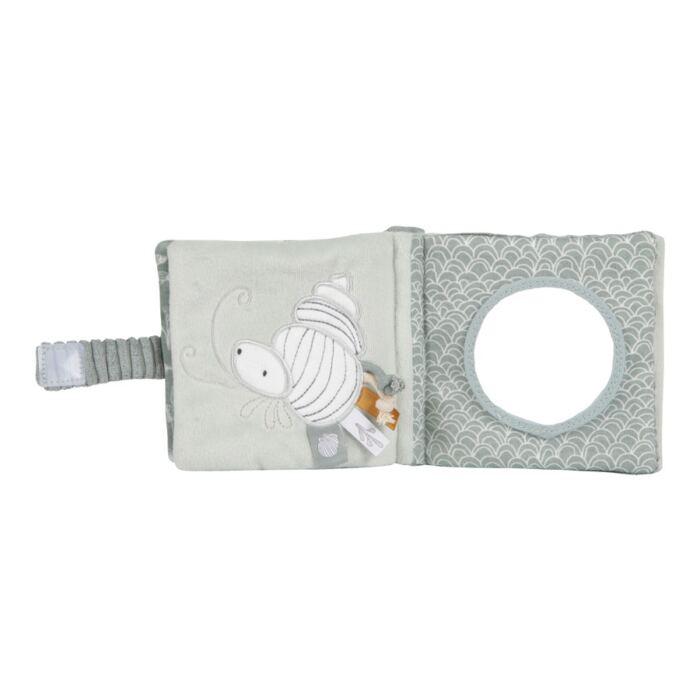 Little Dutch - Plüss babakönyv - tengeri állatos - menta