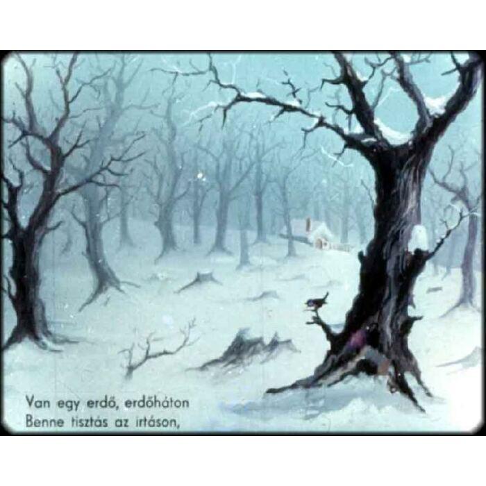 Diafilm - Kismalac meg a farkas