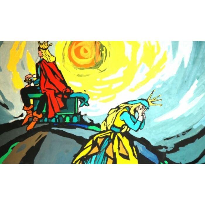 Diafilm - A válogatós királykisasszony