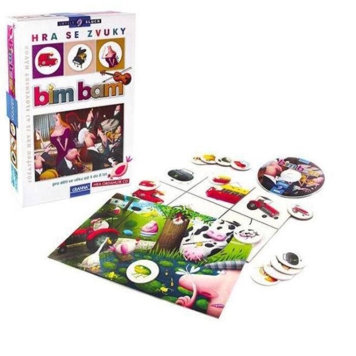 Granna - Érzékek sorozat - Bim-bam - Játék a hangokkal (CD-melléklettel)