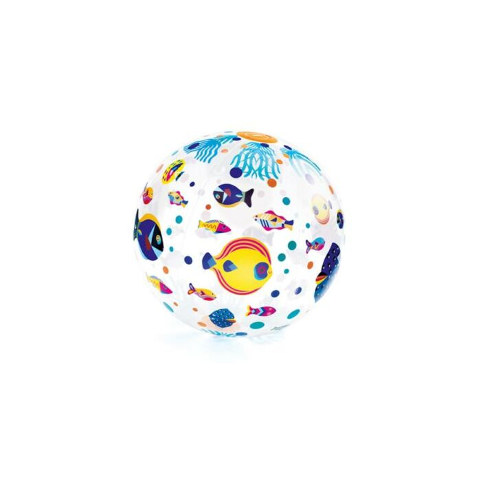 Djeco - Felfújható labda - Halacskák