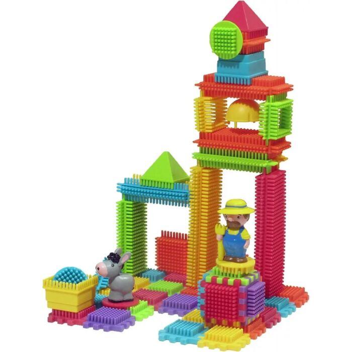 Sycomore - Építő készlet - Farm 2 figurával - 80 db