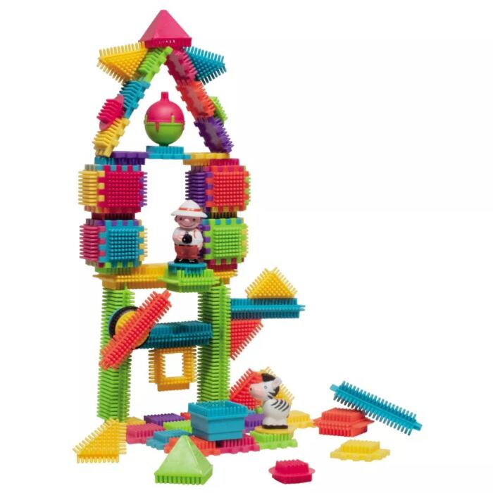 Sycomore - Építő készlet - Dzsungel 2 figurával - 80 db