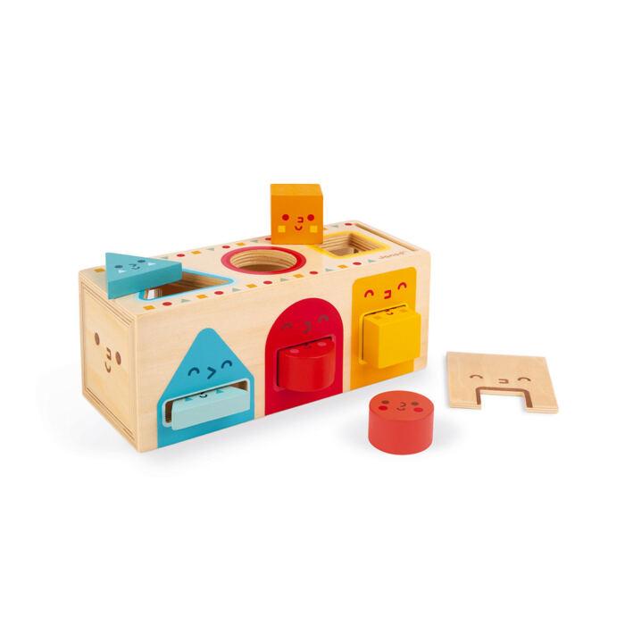 Janod - Geometriai formaválogató doboz