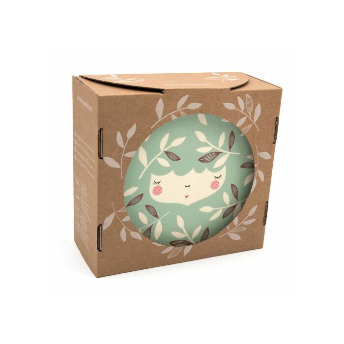 Yuunaa-Marinski design bambusz gyerek étkészlet – menta