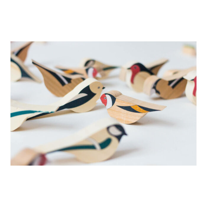 Eperfa - Hegyvidéki madarak - többféle