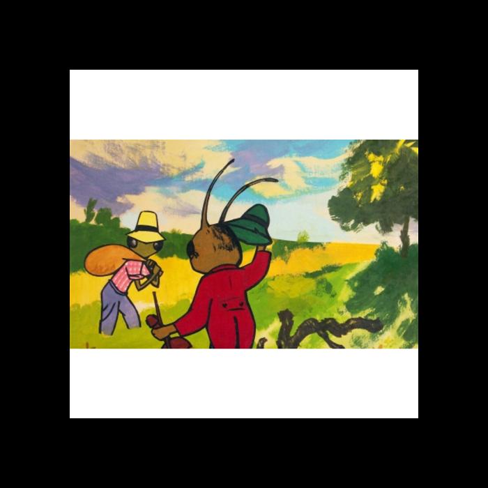 Diafilm - A tücsök és a hangya