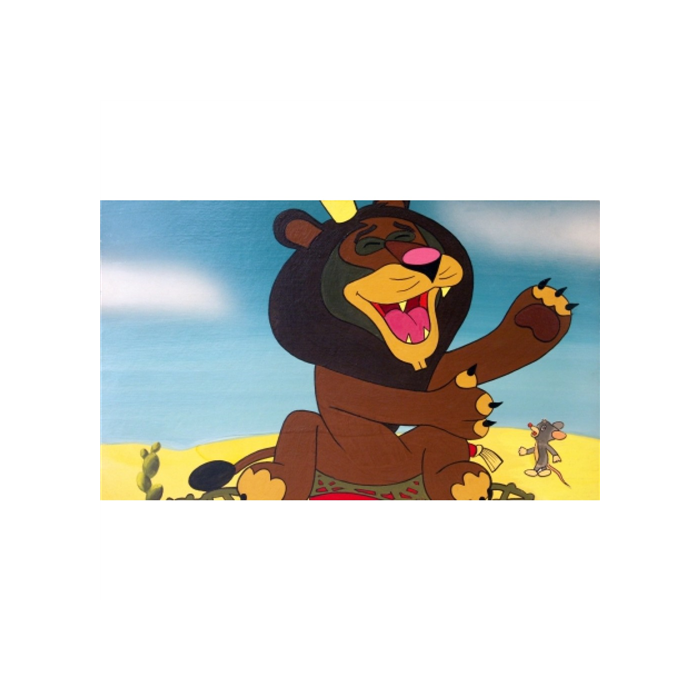 Diafilm - Az egér és az oroszlán