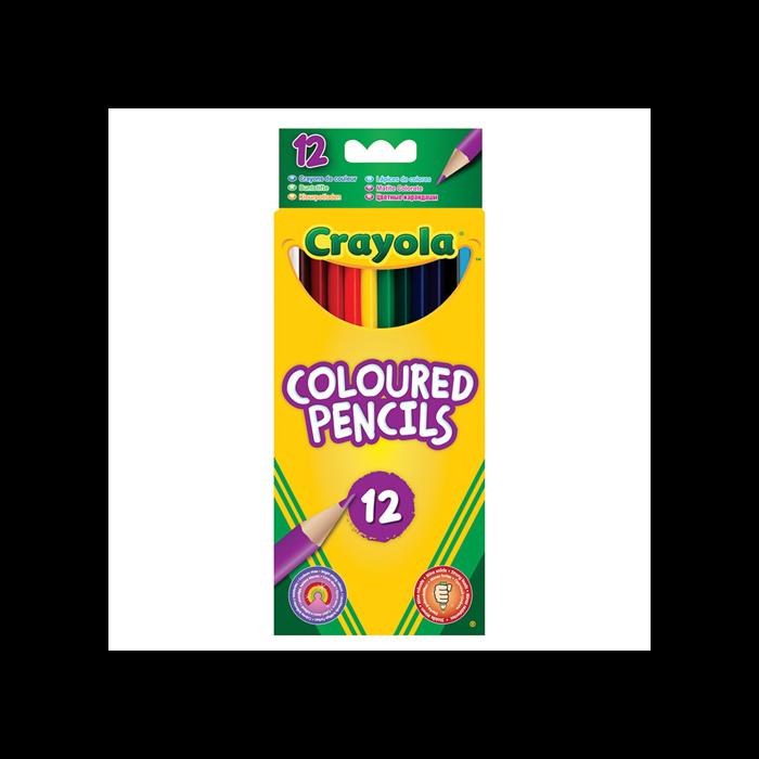 Crayola - Hosszú színes ceruza - 12 db-os