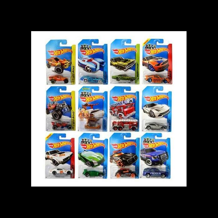 Hot Wheels - 1:64 kisautó - többféle