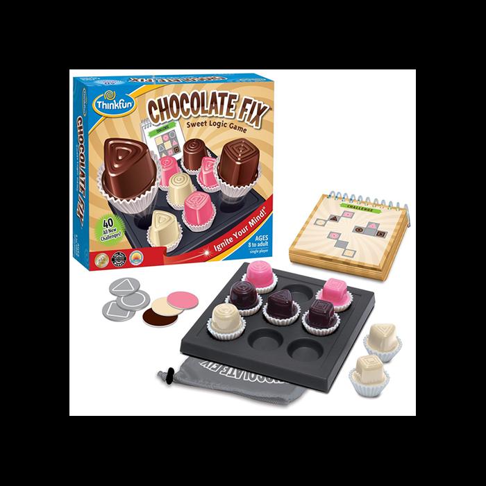 Thinkfun - Chocolate Fix - Ínycsiklandó logikai játék