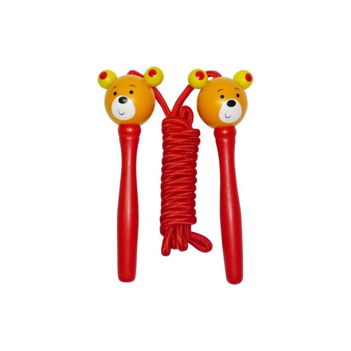 Fajáték - Ugrálókötél - maci
