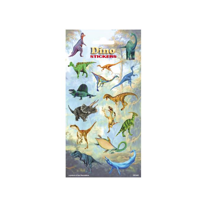 Dinoszauruszok - Matrica - 102x200