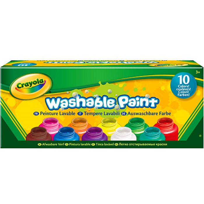 Crayola - Lemosható festék - 10 színben