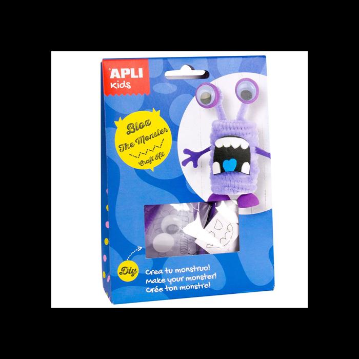 Apli Kids - Craft Kit fugura készítő - Bloz, a szörny