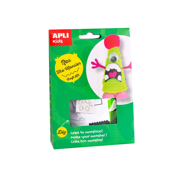 Apli Kids - Craft Kit figura készítő - Ras, a szörny