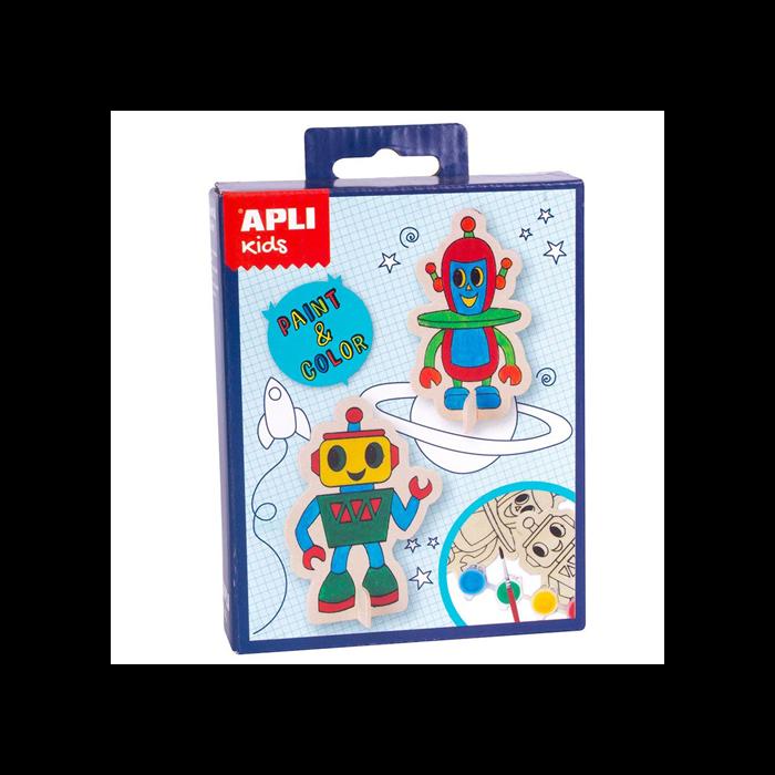 Apli Kids - Mini Kit - Figura kifestő - Robot