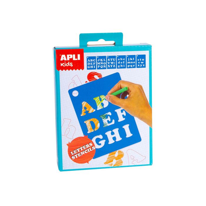 Apli Kids - Mini Kit - Betű sablonok