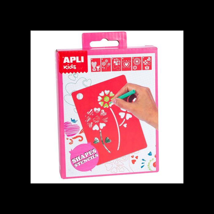 Apli Kids - Mini Kit - Forma sablonok