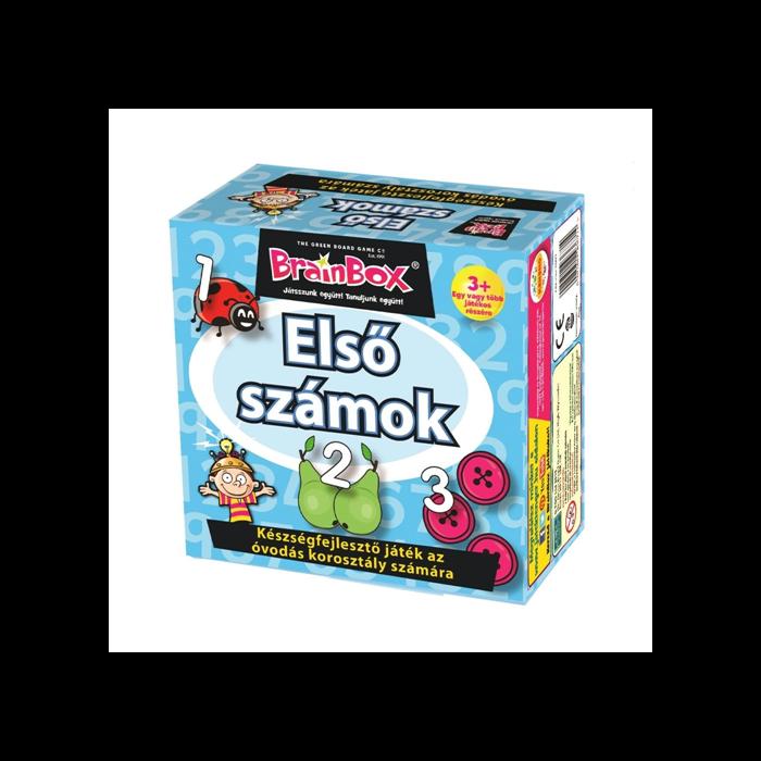 BrainBox - Első számok társasjáték