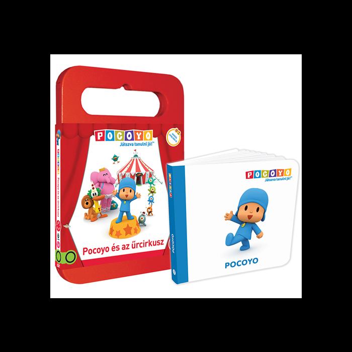 POCOYO ajándékcsomag (könyv, DVD)