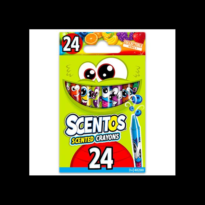 Scentos - Illatos zsírkréta - 24 db