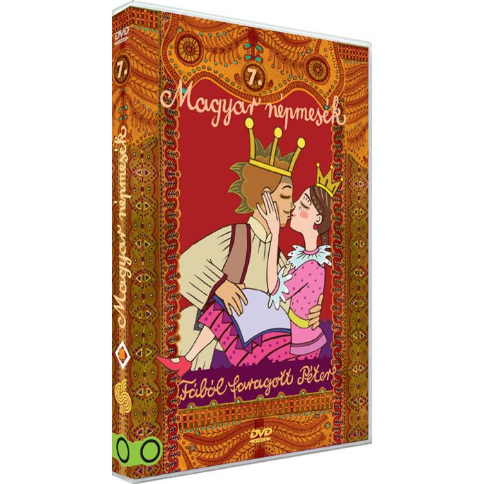 Magyar Népmesék 7. - Fából faragott Péter DVD