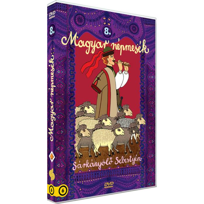 Magyar Népmesék 8. - Sárkányölő Sebestyén DVD