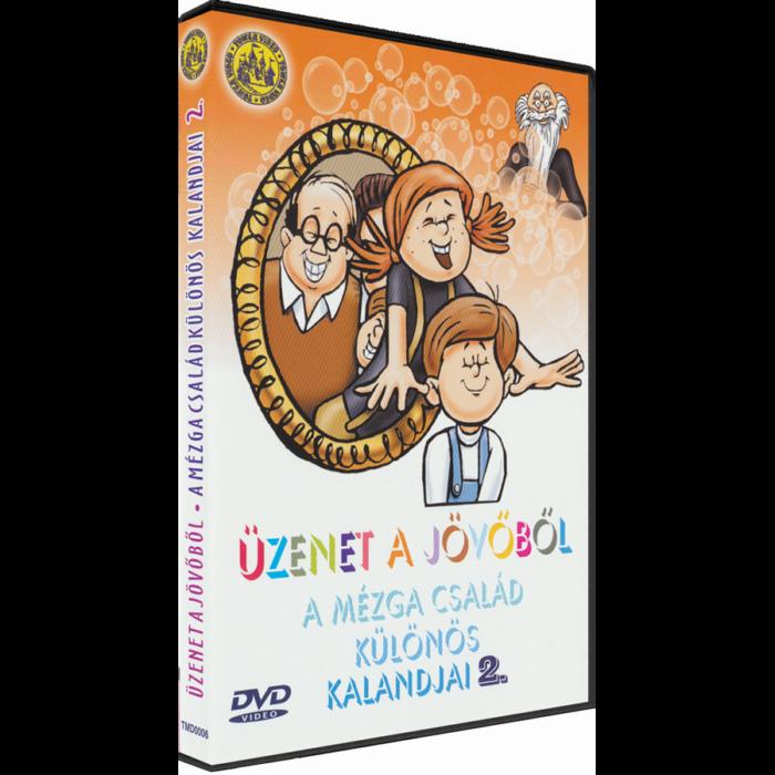 Üzenet a jövőből - A Mézga család különös kaladjai 2. - DVD