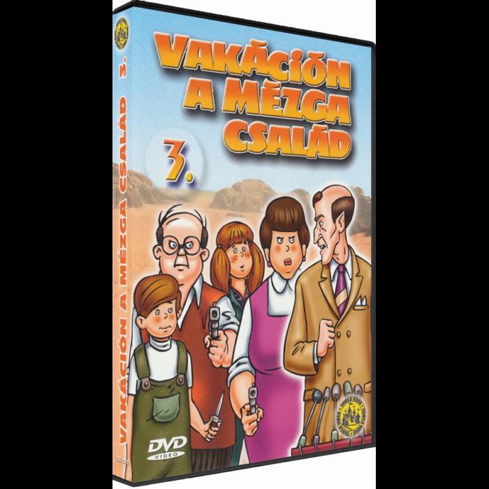Vakáción a Mézga család 3. - DVD