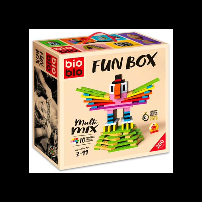 """Bioblo Fun Box """"Multi Mix"""" 200 db-os építőjáték"""