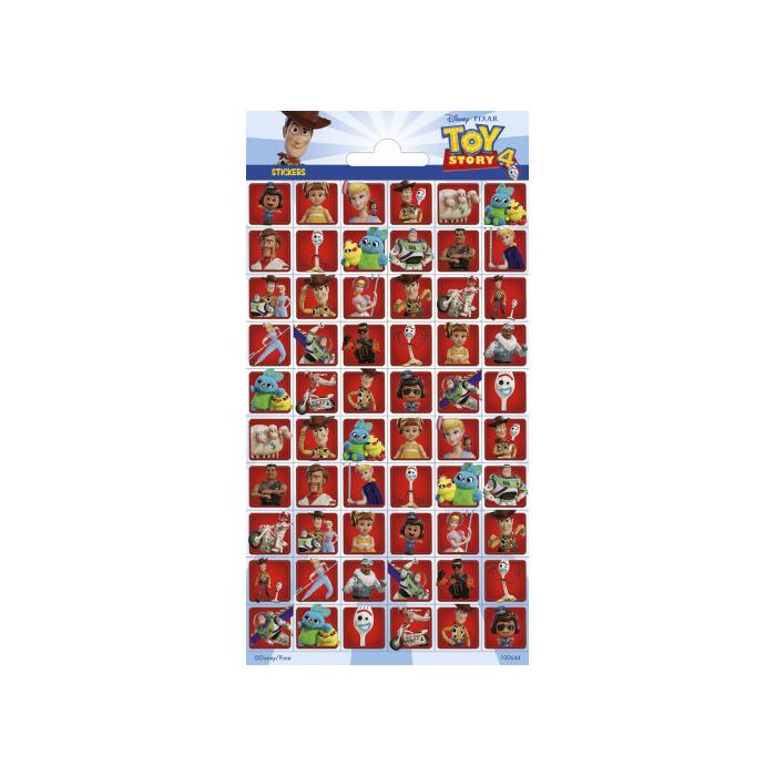 Toy Story hosszúkás matrica kisképekkel