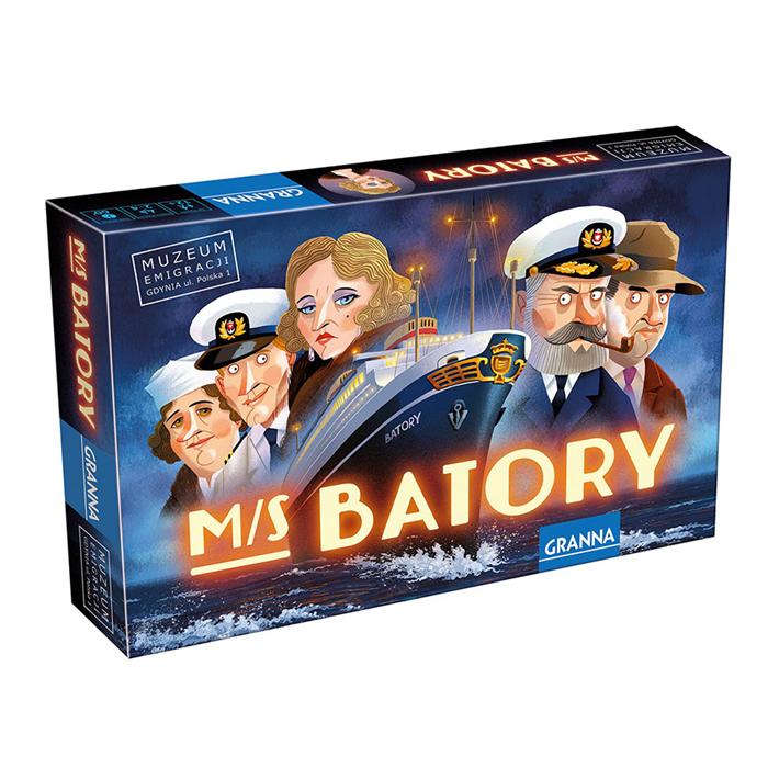 Granna - M/S Batory társasjáték