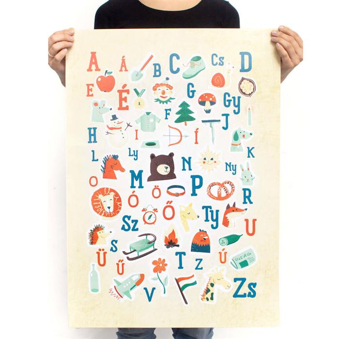KUVIK - ABC poszter